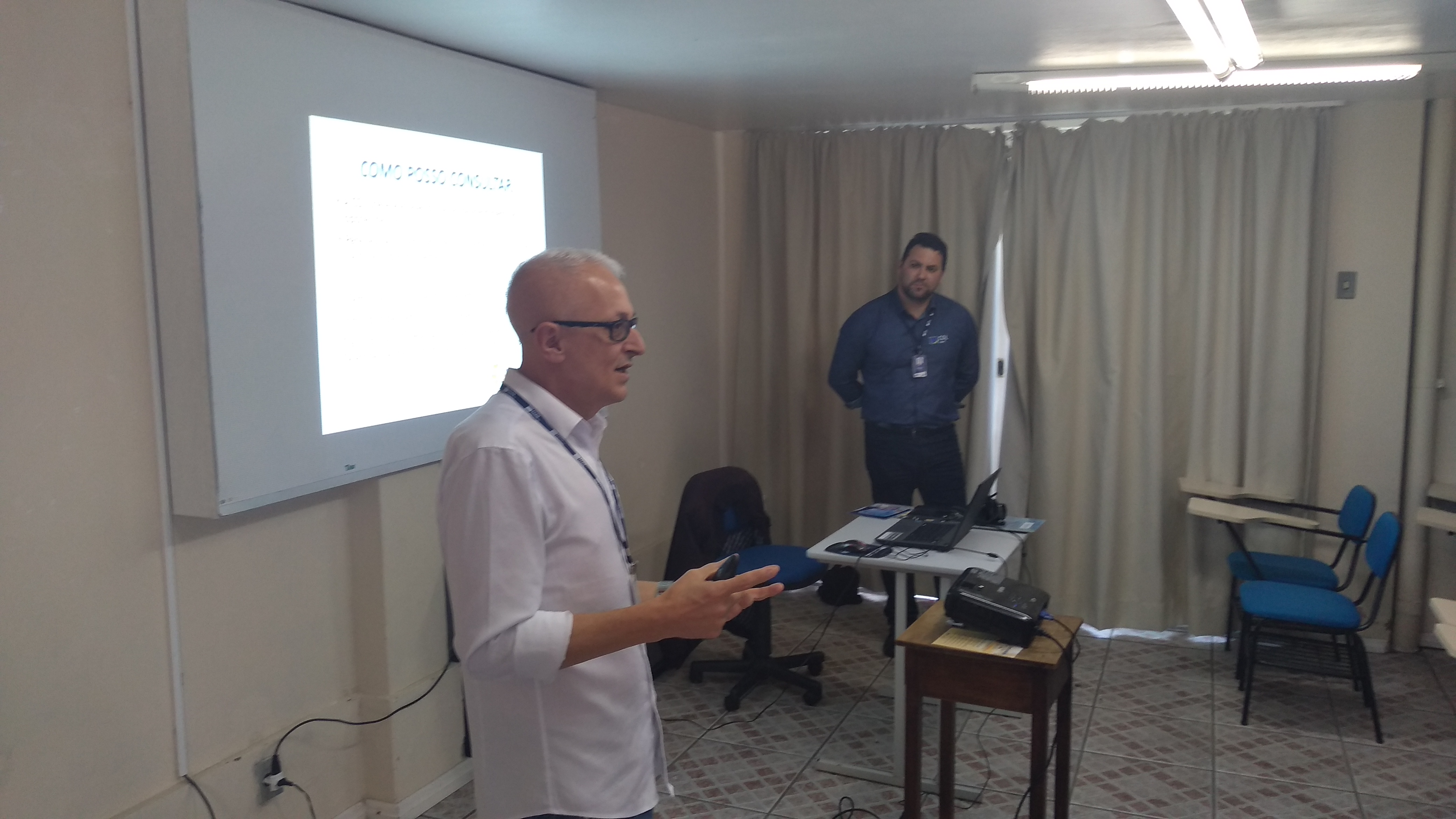 08/08/2019 - Educação financeira com coordenadores do SPC/CDL.