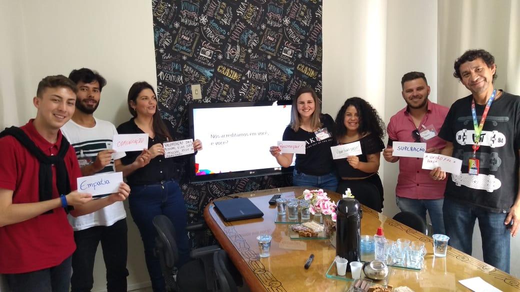 11/09/2019 - Integração dos novos colaboradores do grupo SCC.