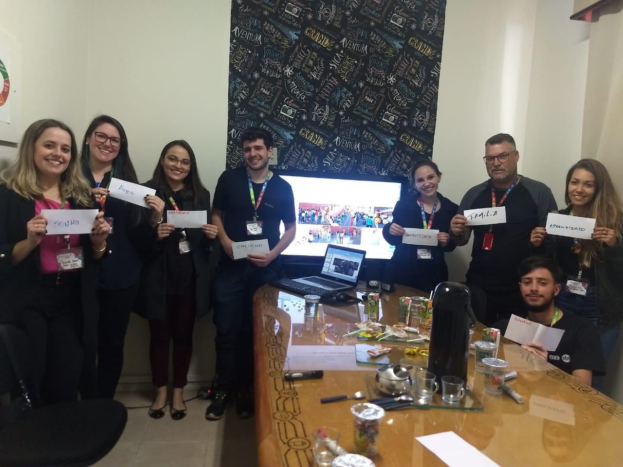 22/10/2019 - Integração dos novos colaboradores do grupo SCC.