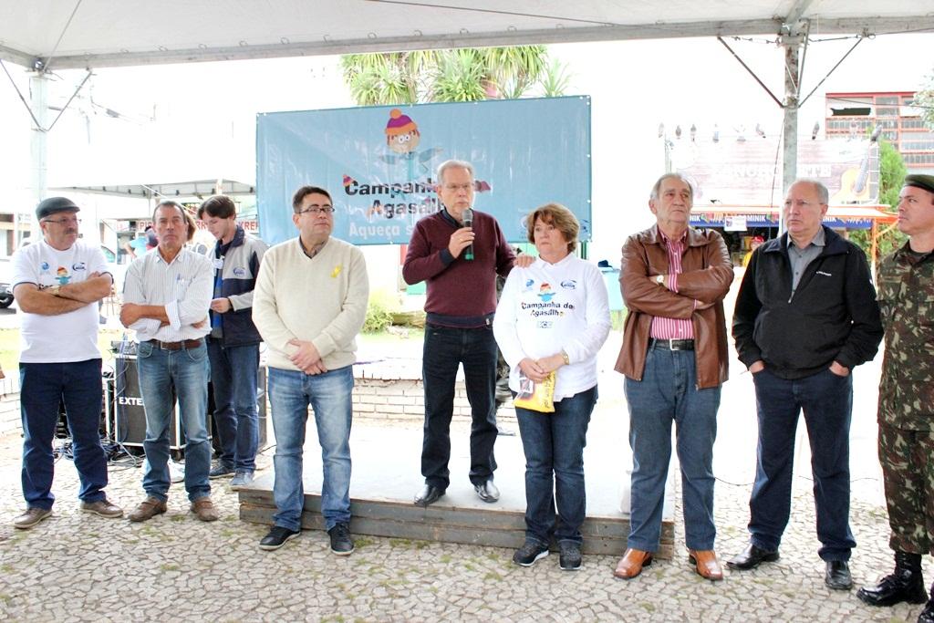 'Dia D' da Campanha do Agasalho e Cobertor mostra a solidariedade do lageano