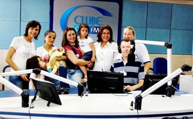FCJA e Rádio Clube parabenizam a primeira Gestante de 2017