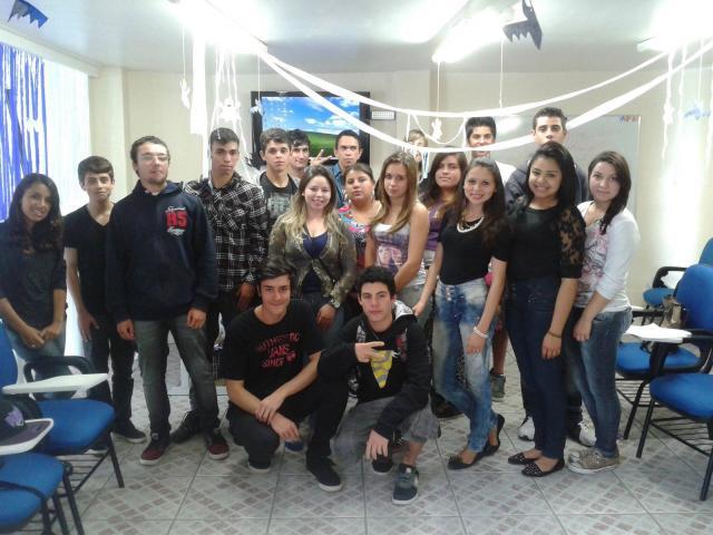 Festa de Halloween dos Jovens Aprendizes da FCJ
