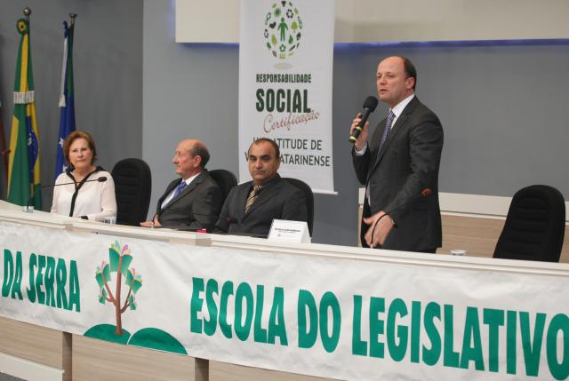 I Seminário de Certificação de Responsabilidade Social: Uma Atitude de Valor Catarinense